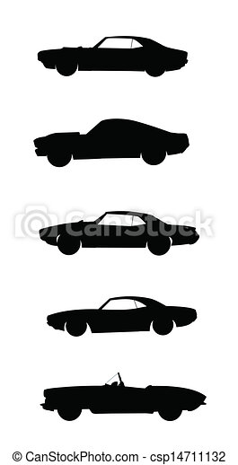 Vectors Of Muscle Cars Cars Popular In S And S