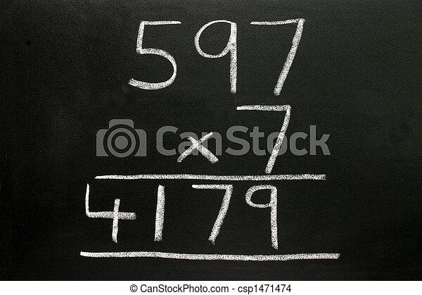 Basic multiplication sum. - csp1471474