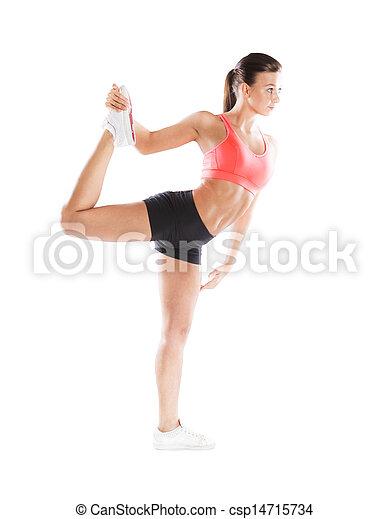 Fitness portrait - csp14715734
