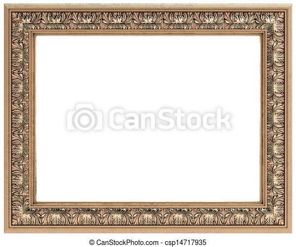 Dessins de rectangulaire or d coup cadre pour a - Cadre photo rectangulaire long ...