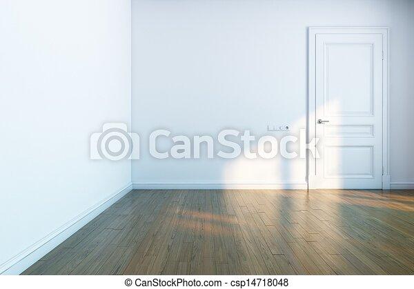 dessin de blanc salle bois parquet blanc porte. Black Bedroom Furniture Sets. Home Design Ideas