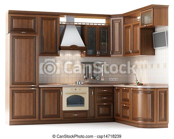 Dibujos de hermoso u200b u200b hecho cocina muebles for Stock de muebles