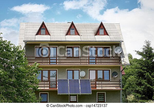 Residential solar panels - csp14723137