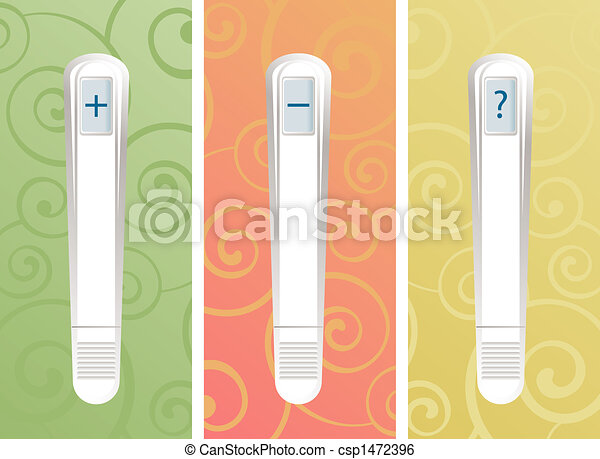 Pregnancy Test Sticks - csp1472396