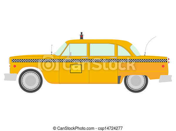 """"""" New York Taxi """" © Alice Tait 2007 
