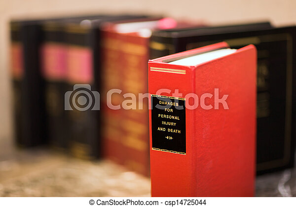 Law book - csp14725044