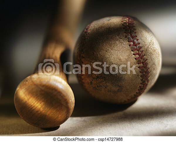 Picture of Bat and baseball