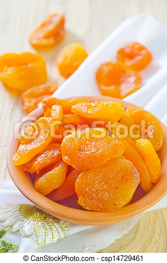 dried apricots - csp14729461