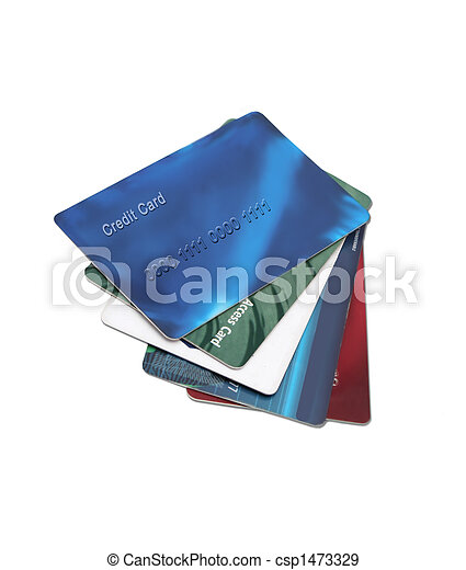 credit and debit cards - csp1473329