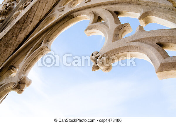 milan cathedral - csp1473486