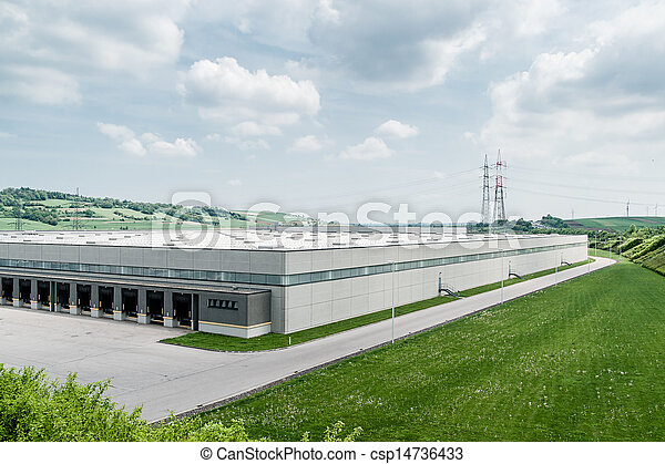 Stock Photos of Modern Distribution Center from outside ...