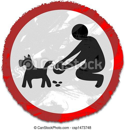 grunge clean it up sign - csp1473748