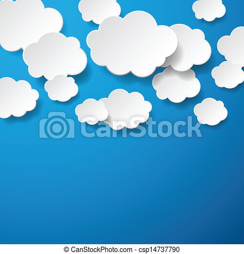Clouds background Vector Clipart Royalty Free. 134,529 Clouds ...