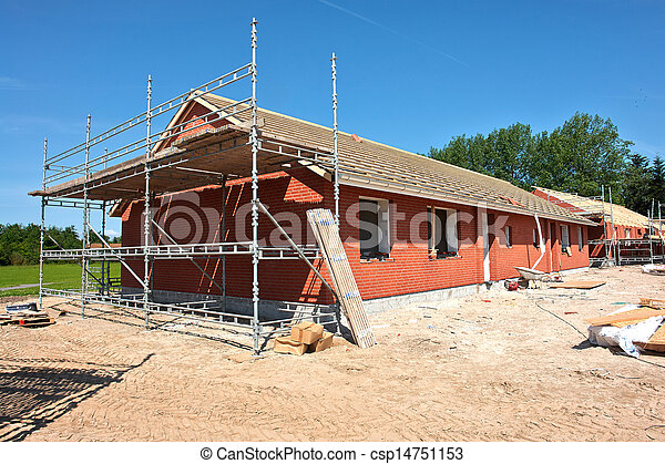New residential home house construction - csp14751153