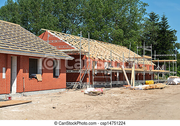 New residential home house construction - csp14751224