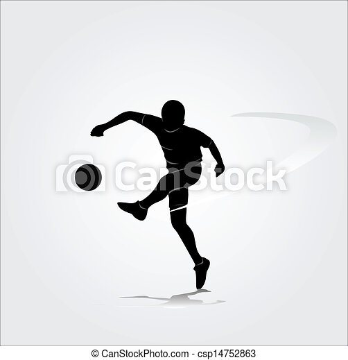 Player Icons Vector Vector Soccer Player