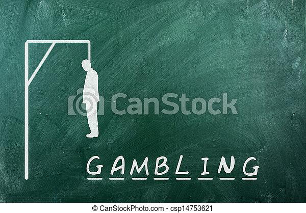 gambling - csp14753621