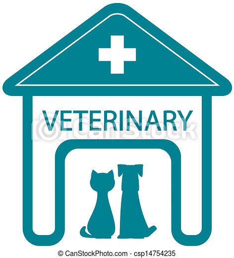 Disegni di casa simbolo veterinario clinica for Piani casa cane trotto