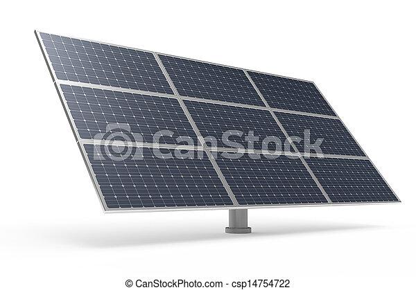 Solar power panel - csp14754722