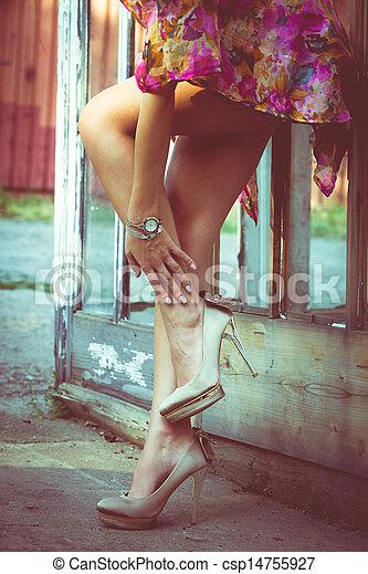 verão, moda - csp14755927