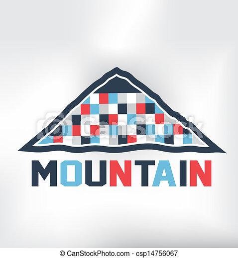Mountain blocks - csp14756067