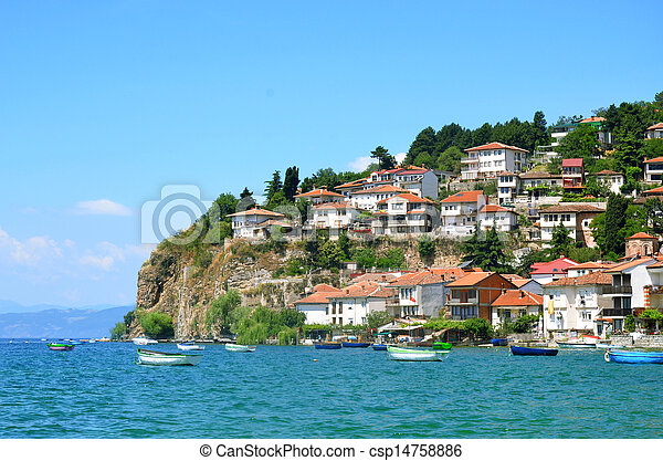 Ohrid lake, Macedonia - csp14758886