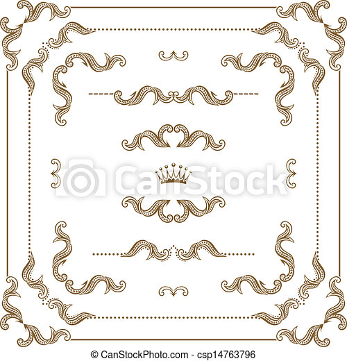 decorative frame - csp14763796