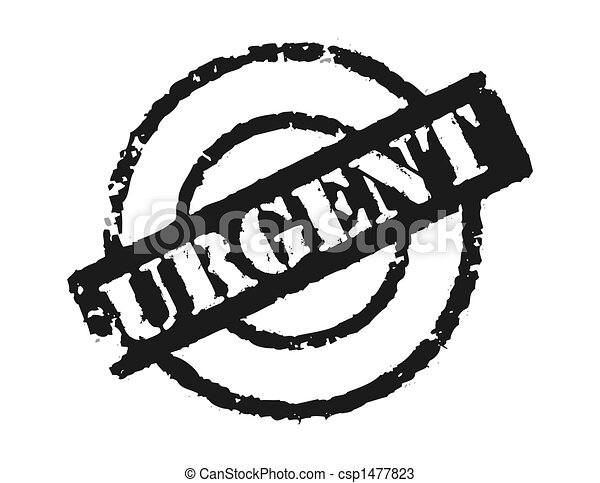 Stamp 'Urgent' - csp1477823