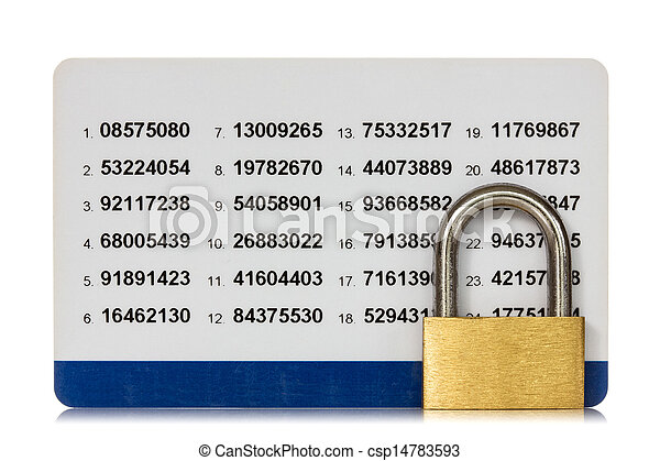 Secure of internet banking - csp14783593