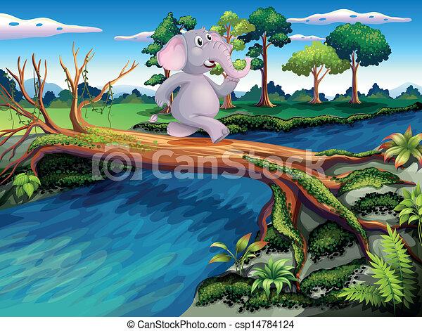 Kid Drawing Of Elephant