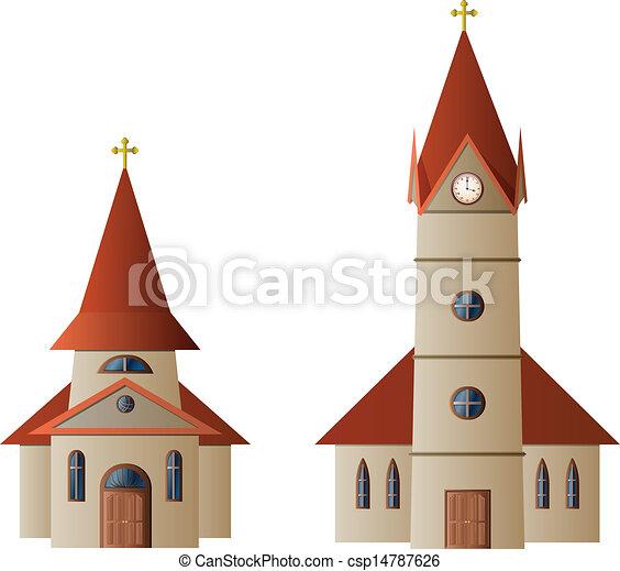 Church and Chapel - csp14787626