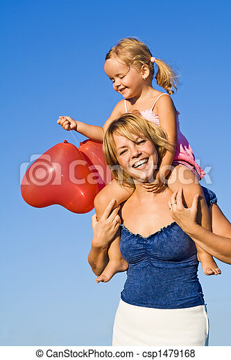 Summer baloon fun - csp1479168