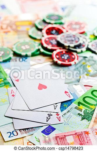 gambling concept - csp14798423