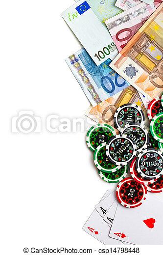 gambling concept - csp14798448
