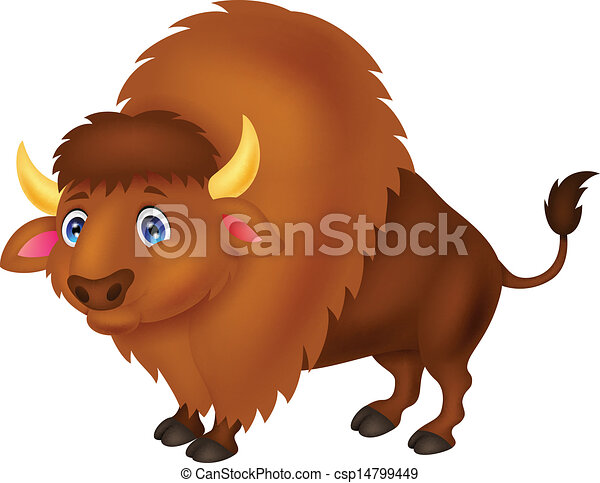 Clip Art Bison Clipart bison illustrations and clipart 1841 royalty free cartoon vector illustration of cartoon