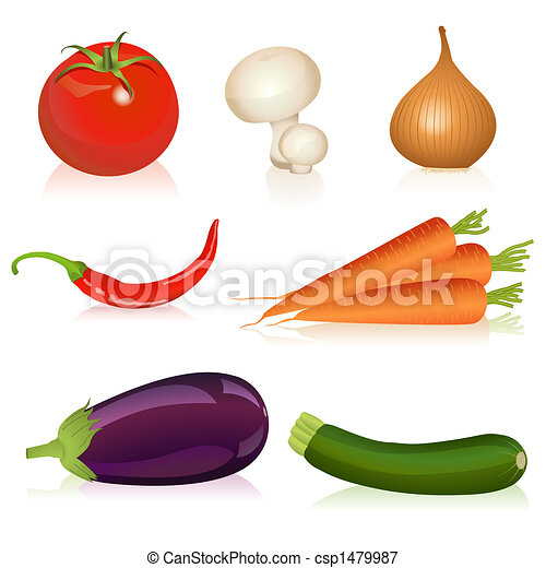 Set of vegetables - csp1479987
