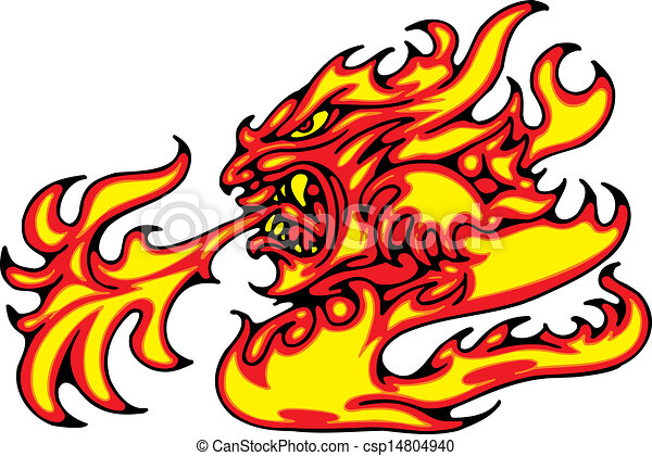 fire illustration - csp14804940