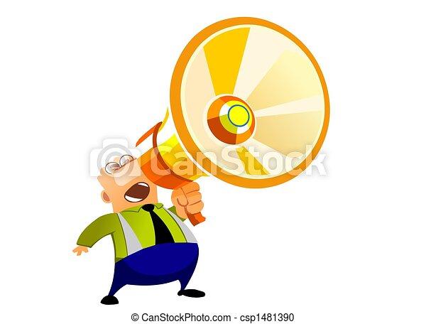 Loud Speaker - csp1481390