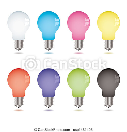 light bulb variation - csp1481403