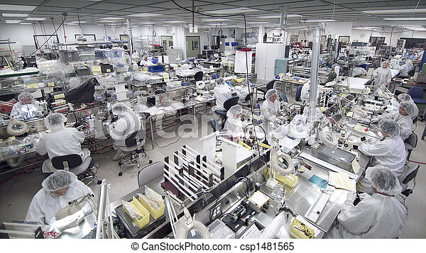 Clean room manufacturing - csp1481565