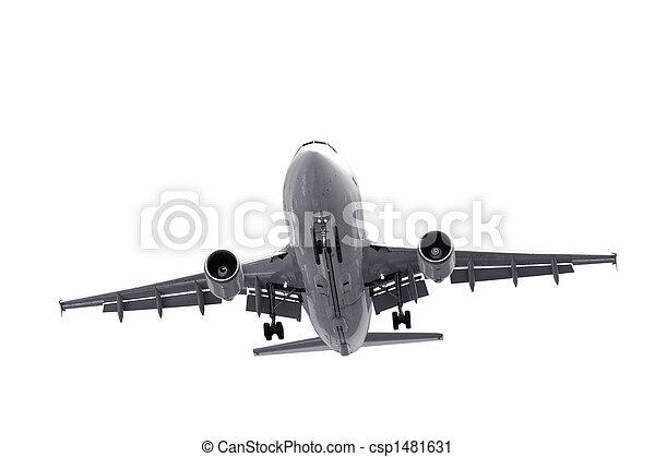aircraft landing - csp1481631