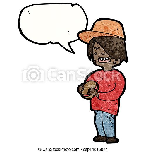 Eating Junk Foods Drawing Boy Eating Junk Food Cartoon