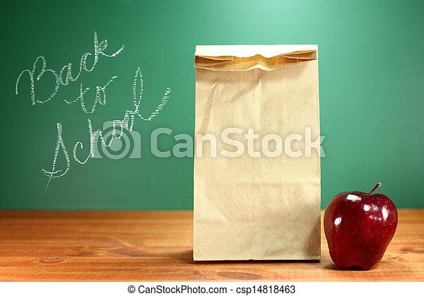 Image de cole d jeuner sac s ance prof bureau dos - Sac dejeuner bureau ...