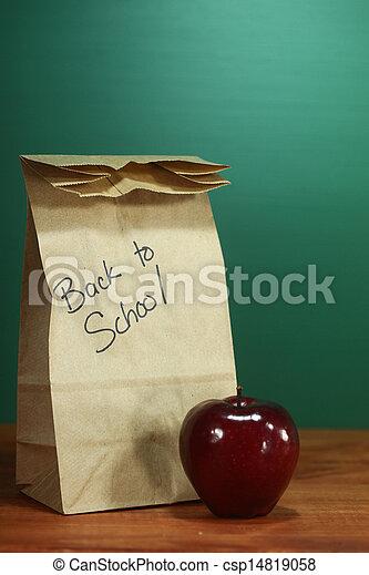 Images de cole d jeuner sac s ance prof bureau dos - Sac dejeuner bureau ...