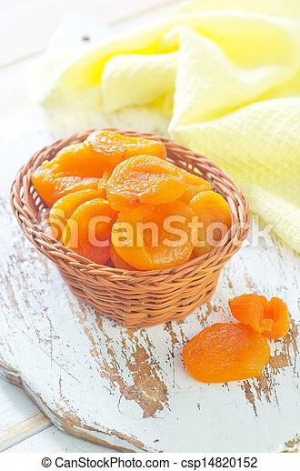 dry apricots - csp14820152