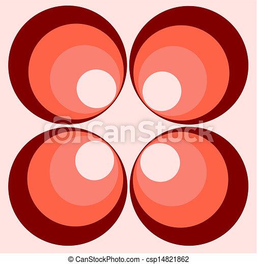 retro circles - csp14821862