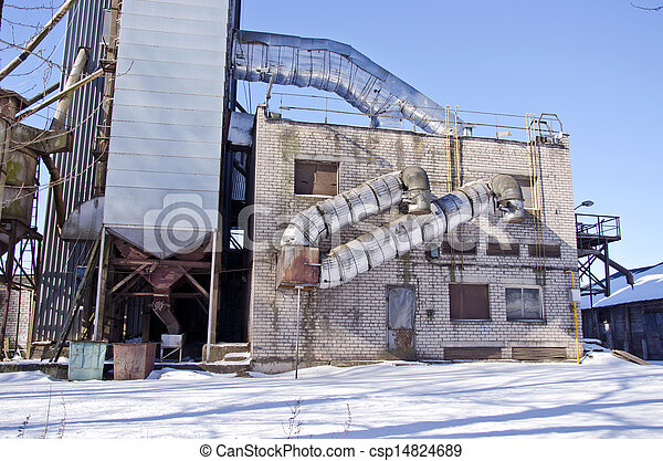 agriculture grain Processing Facility industry construction - csp14824689