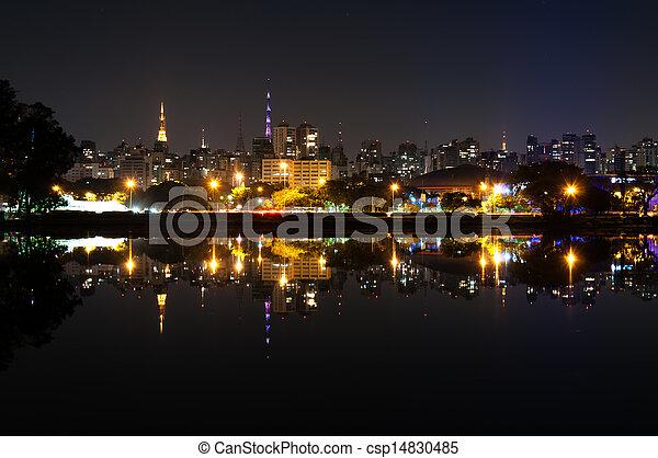 Sao Paulo, Ibirapuera Park - csp14830485