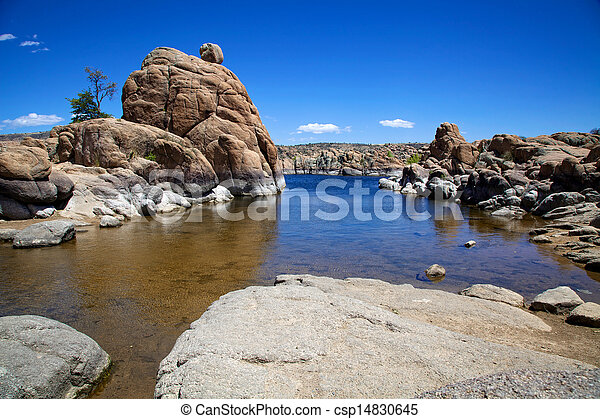 Watson Lake, Prescott Arizona - csp14830645