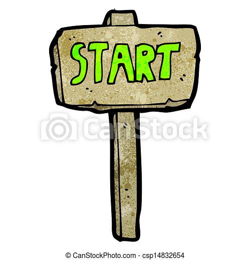 Clip Art Start Clipart start sign illustrations and clipart 50260 royalty cartoon